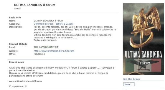 ultimabandiera forum