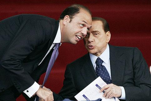 Alfano-e-Berlusconi